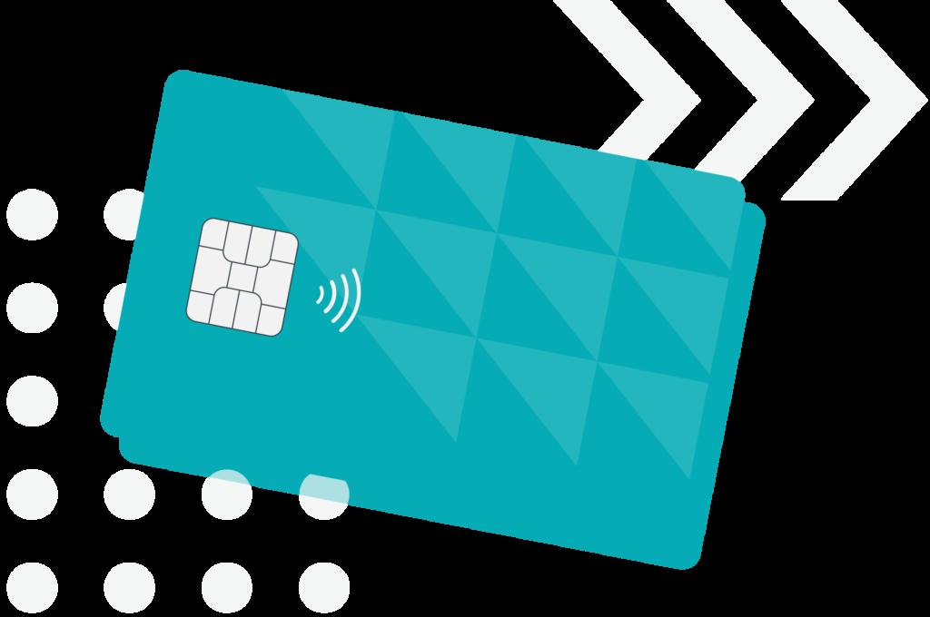 illustration of dirigo credit card